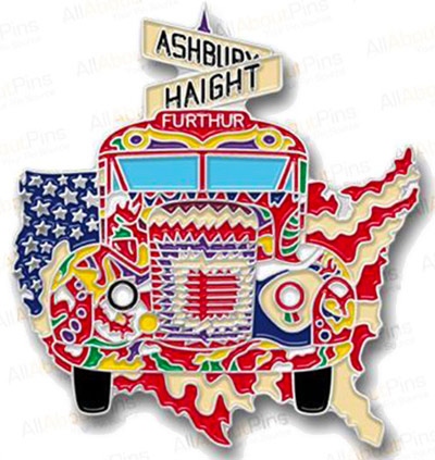 Haight Bus Pin