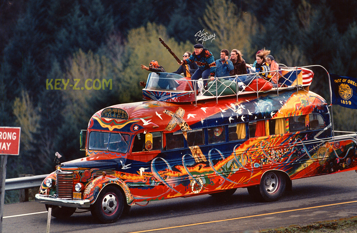 grateful dead merry prankster bus