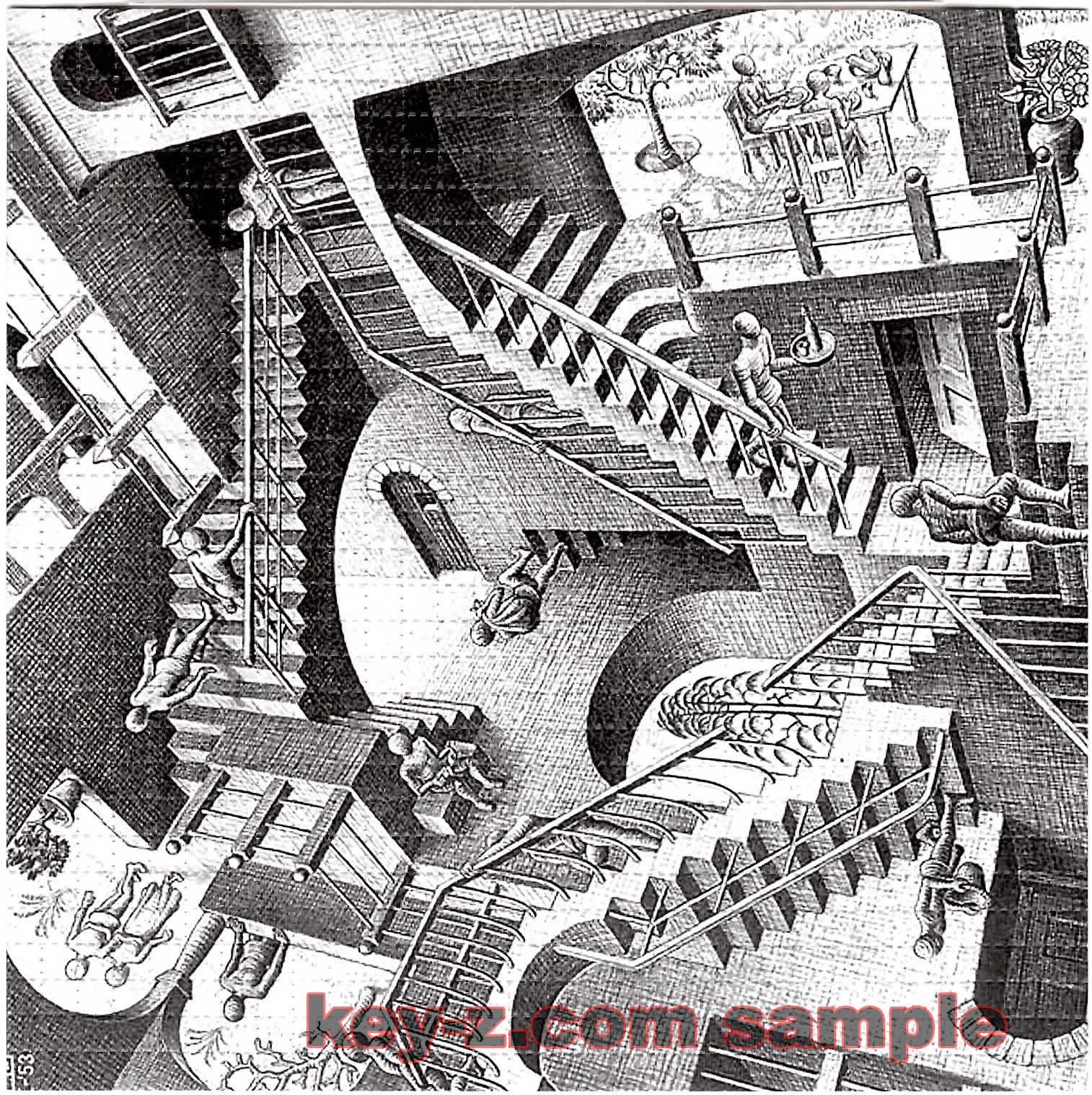 Image Gallery Stair Illusion